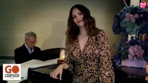 Katharine McPhee and David Foster Perform at Gala in 1st Public Appearance Since Her Pregnancy News
