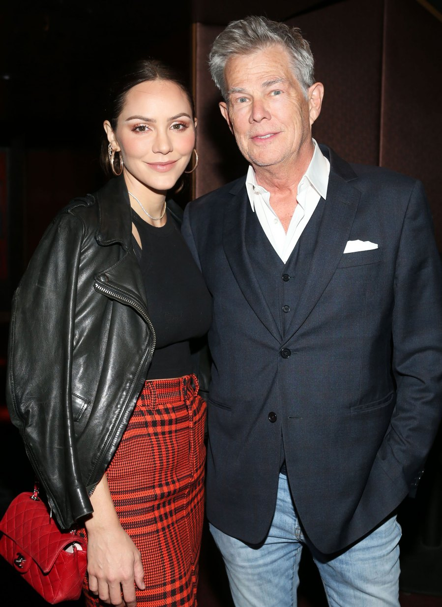 Katharine McPhee and David Foster Welcome Their 1st Child Together, His 6th