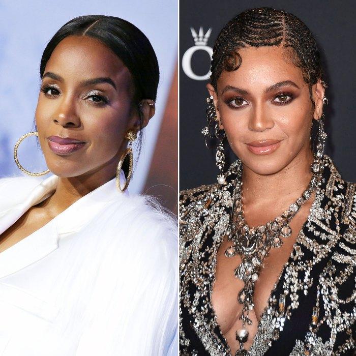 Kelly Rowland dice que Beyonce la está ayudando a abrazar la sensualidad durante el embarazo
