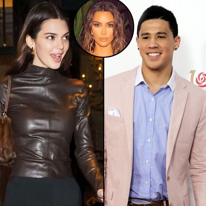 Kendall Jenner invitó al viaje de cumpleaños de Devin Booker Kim Kardashian
