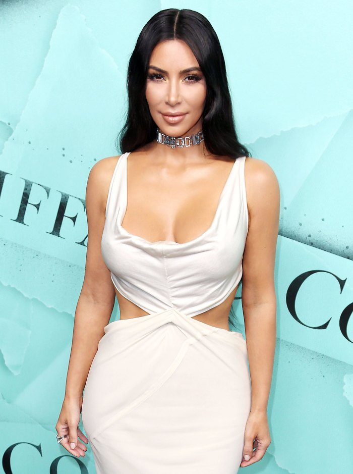 Kim Kardashian Attends Tiffany Blue Book Collection Kim Kardashian Family Shocks Her With 40th Birthday Party