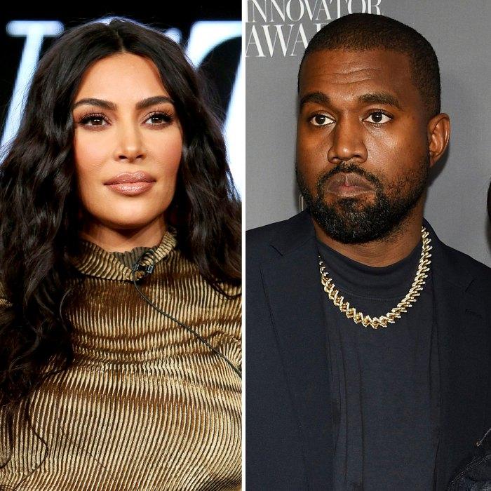 Kim Kardashian fue realmente difícil atender a 4 niños solo cuando Kanye West tenía Covid-19