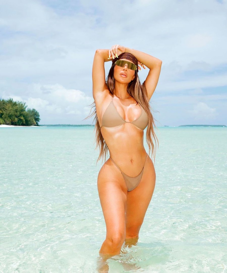 Kim Kardashian 'This Is 40' Bikini Pics