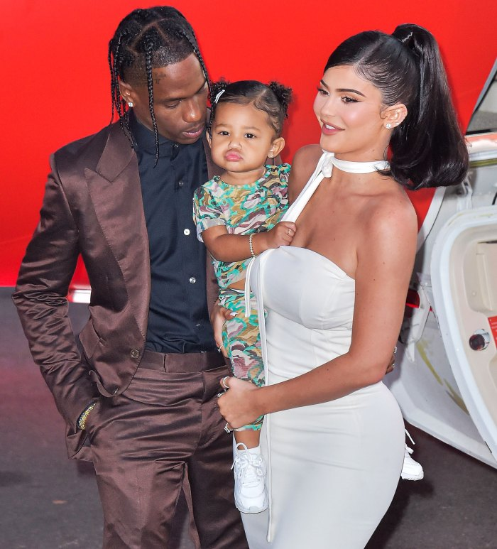 Kylie Jenner Travis Scott Are Doing Amazingly at Coparenting Stormi