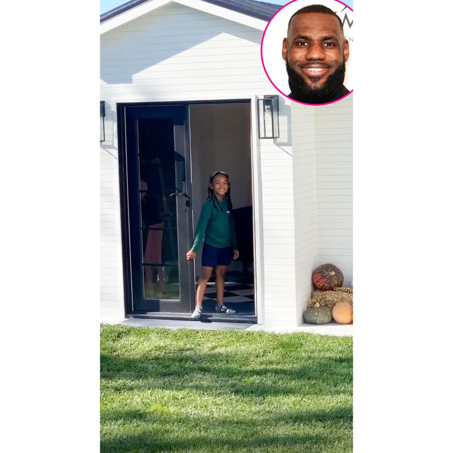LeBron James Gives Daughter Zhuri Epic Playhouse for Her Sixth Birthday