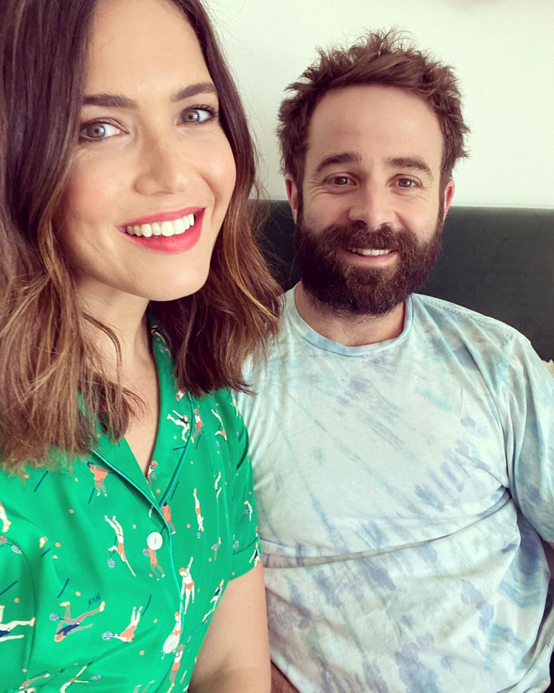 Mandy Moore Gives Birth, Welcomes 1st Child With Husband Taylor Goldsmith