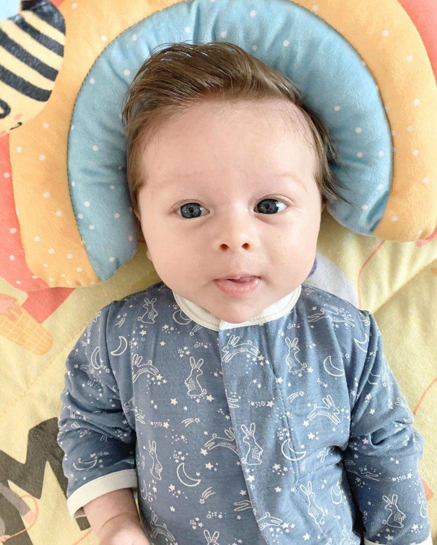 Matteo Baby Blue Artem Chigvintsev and Nikki Bella