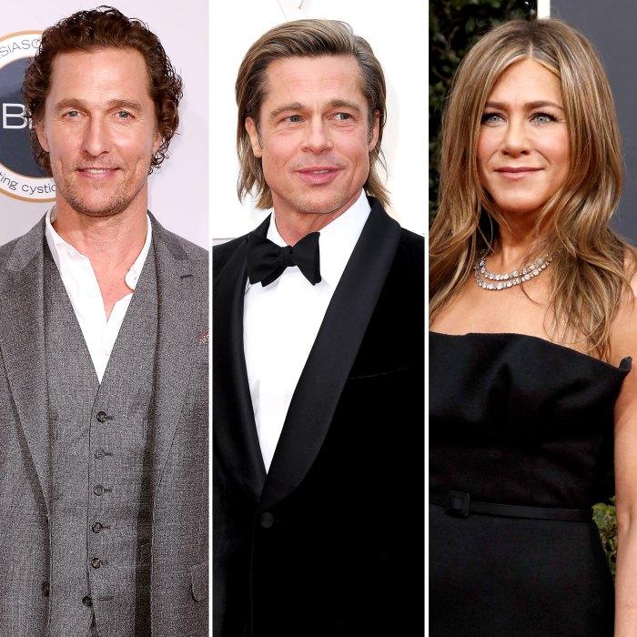 Matthew McConaughey sobre la tensión sexual entre Brad Pitt y Jen Aniston