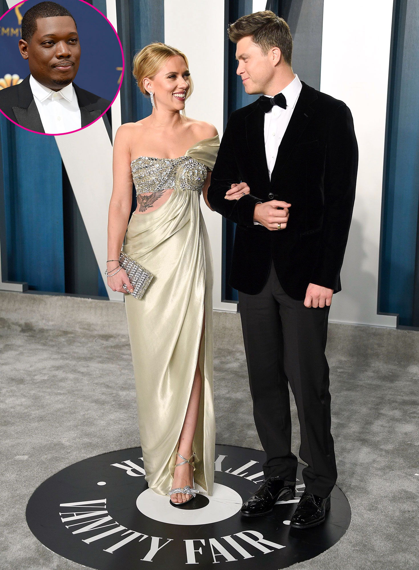 Michael Che Dishes On Colin Jost S Wedding To Scarlett Johansson