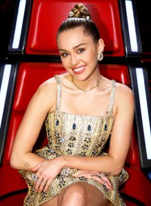 Miley Cyrus Says Her Dog Was Electrocuted on 'The Voice' Set But Is 'Fine' Now