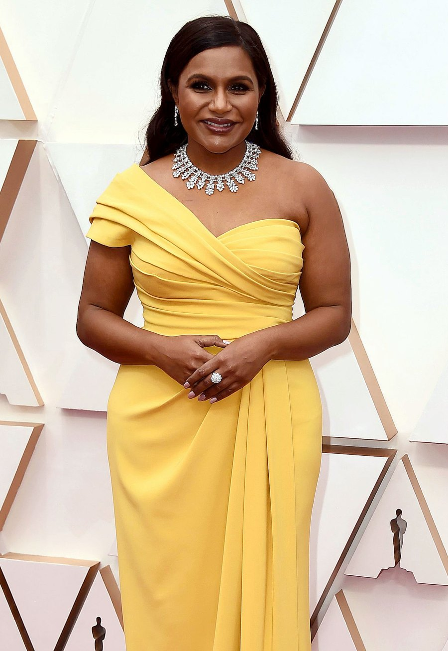 Mindy Kaling Mom Quotes Yellow Dress
