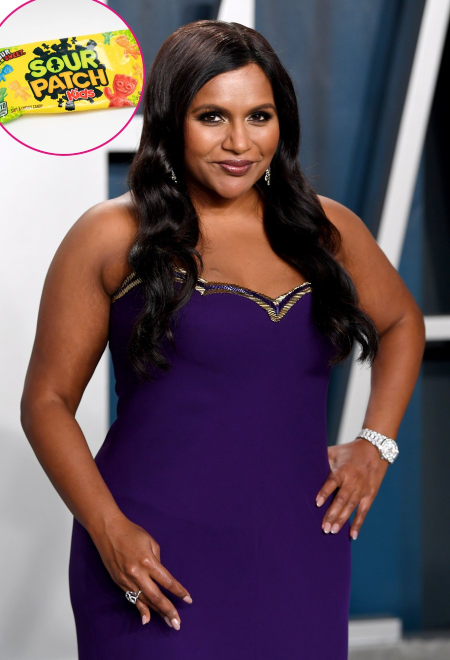 Celebrities Favorite Halloween Candy Mindy Kaling Sour Patch Kids