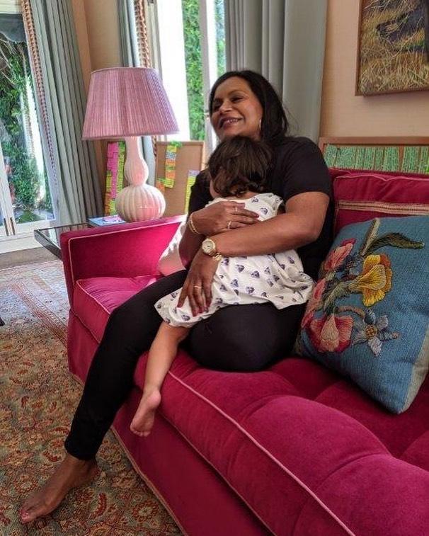 Mindy Kaling Voting for Daughter Katherine's Sake