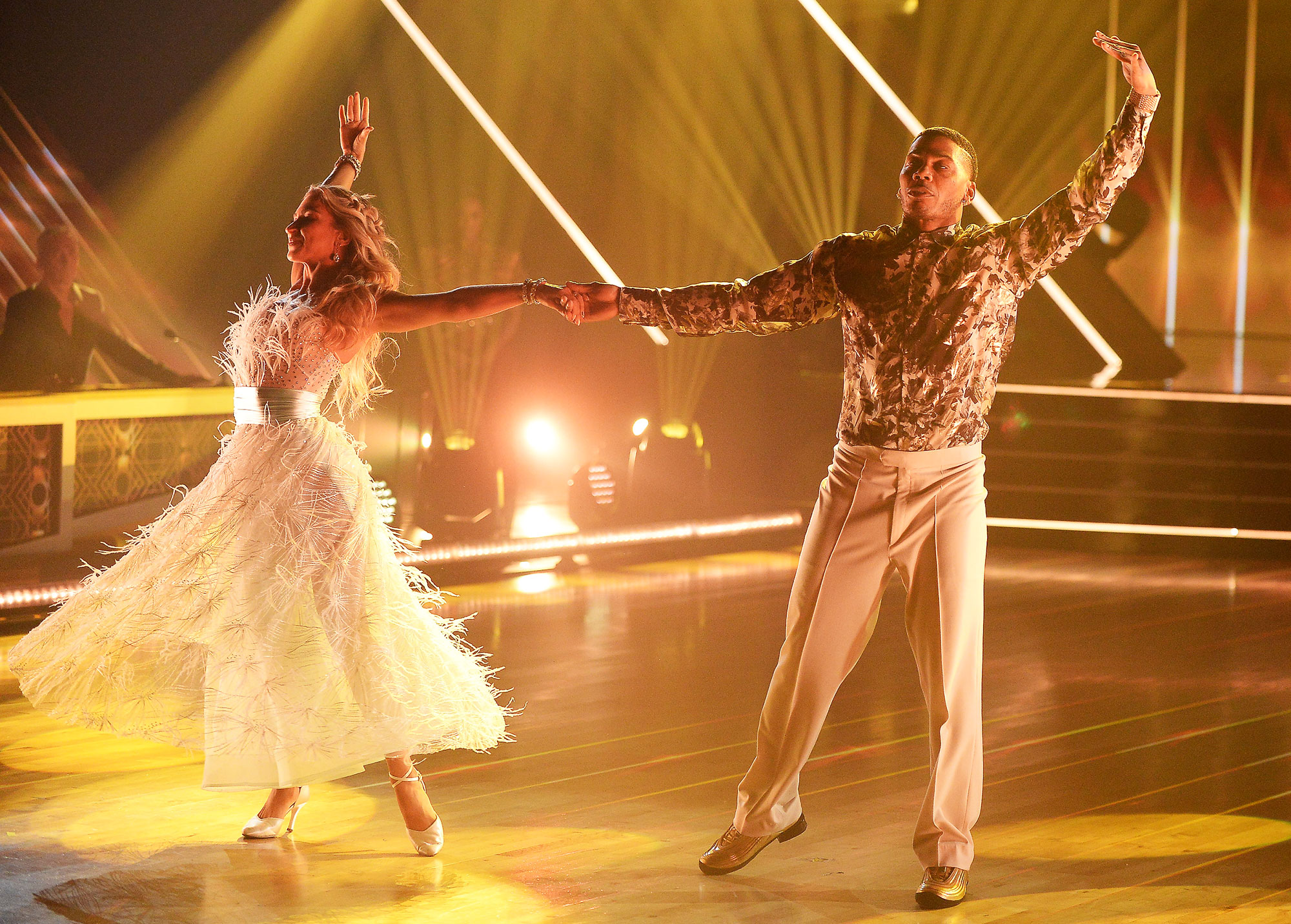 Daniella Karagach and Nelly on Dancing With the Stars Nelly Reveals How Much Weight He Has Lost on Dancing With the Stars