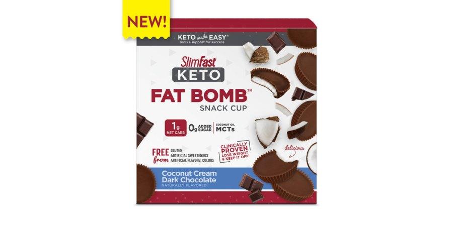 New SlimFast Keto Fat Bombs