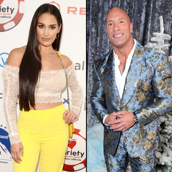 Nikki Bella Responds Backlash Over Support Book About The Rock