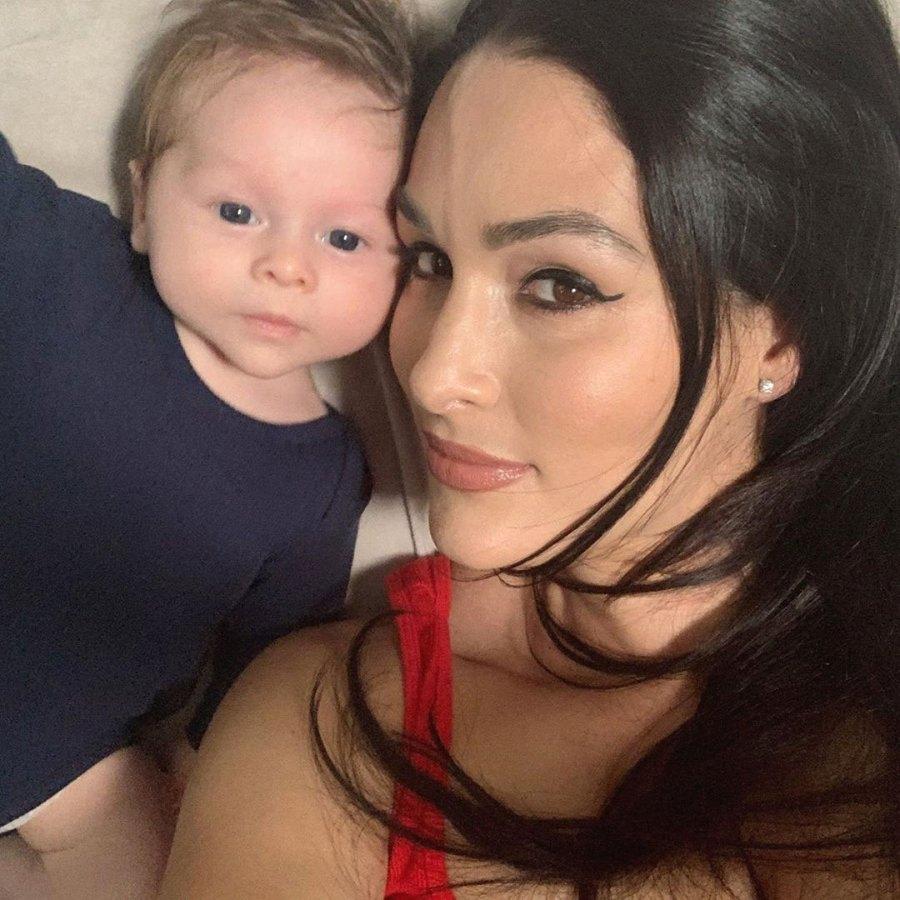 Nikki-Bella-Son-Matteo-Looks-Like-Dad-Artem-Chigvintsev-in-Sweet-Selfies