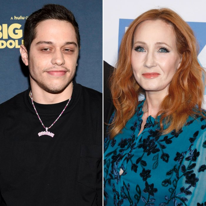 Pete Davidson Slams J.K. Rowling for 'Very Disappointing' Transphobic Comments on 'SNL'