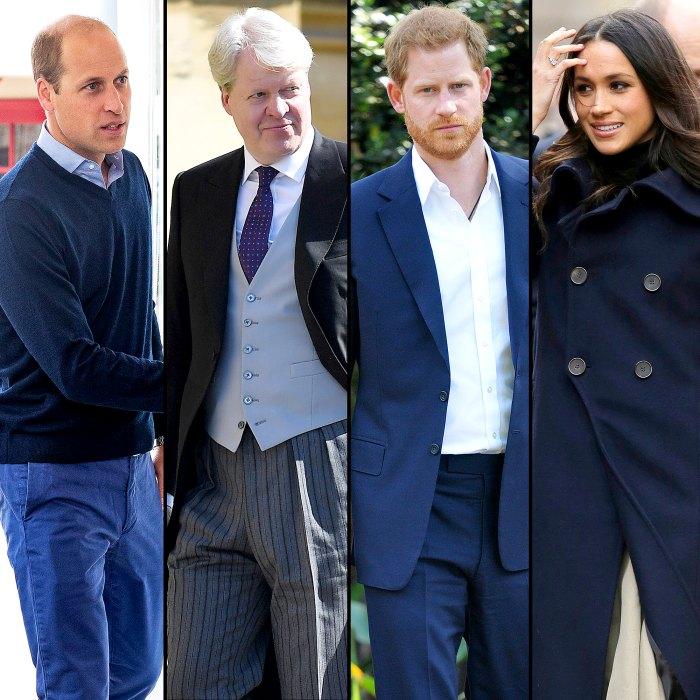 El príncipe William reclutó al tío Charles Spencer para hablar con el príncipe Harry sobre Meghan Markle