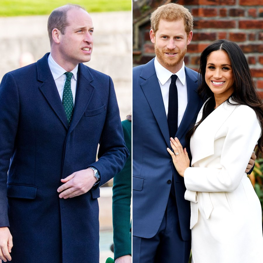 Prince William Prince Harry and Meghan Markle