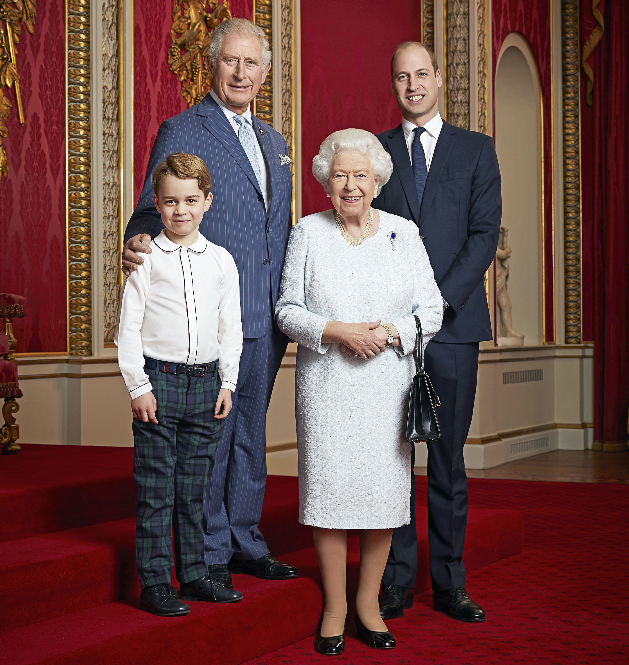 Prince William Wanted to Send Harry 'a Message' With 2019 Succession Photo