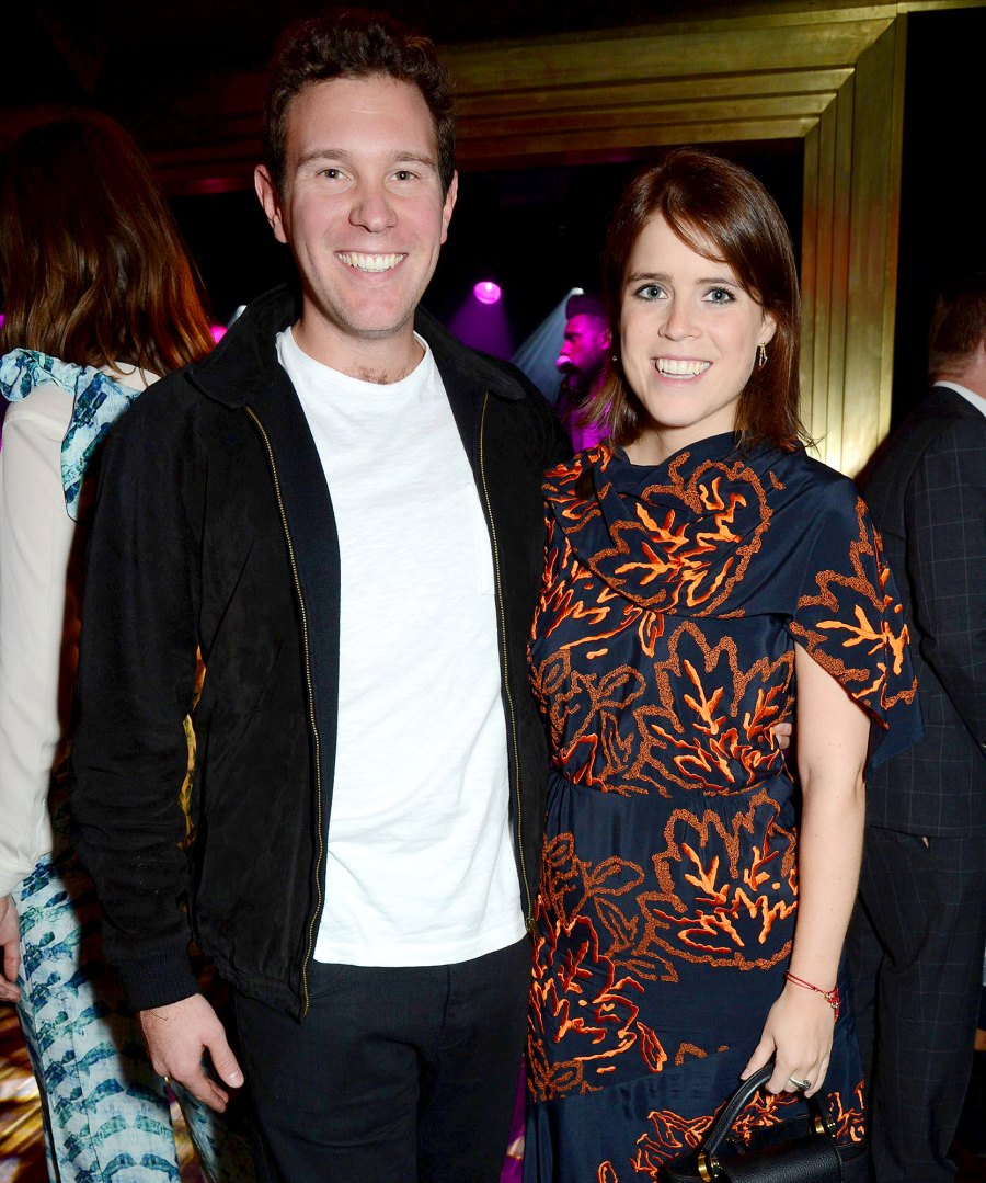 Princess Eugenie Gives Birth Welcomes 1st Child With Jack Brooksbank