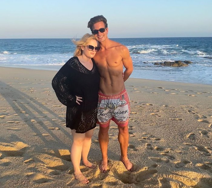 Rebel Wilson Wears Swimsuit During Vacation with Boyfriend Jacob Busch
