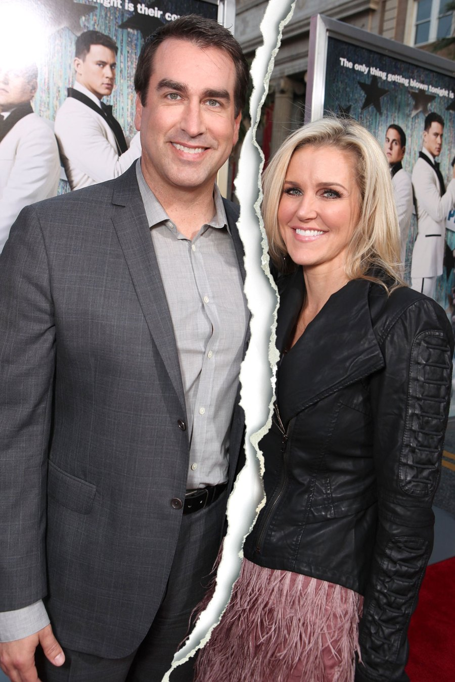 Rob Riggle and Tiffany Riggle Split