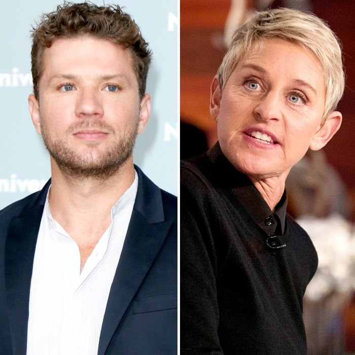 Ryan Phillippe Takes a Jab at Ellen DeGeneres After Rumors She Is Mean 1