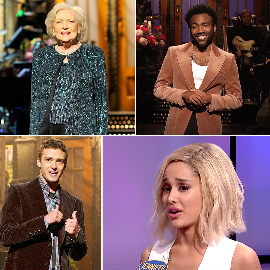 SNL hosts through the years