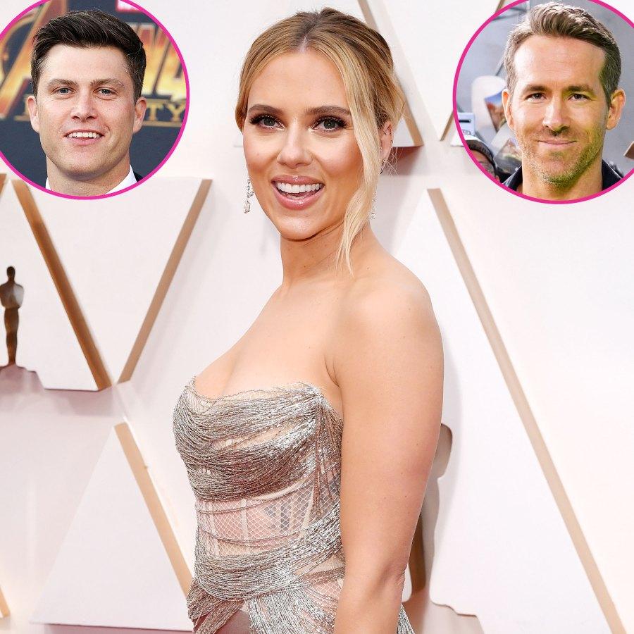 Scarlett Johansson Romantic History Colin Jost Ryan Reynolds