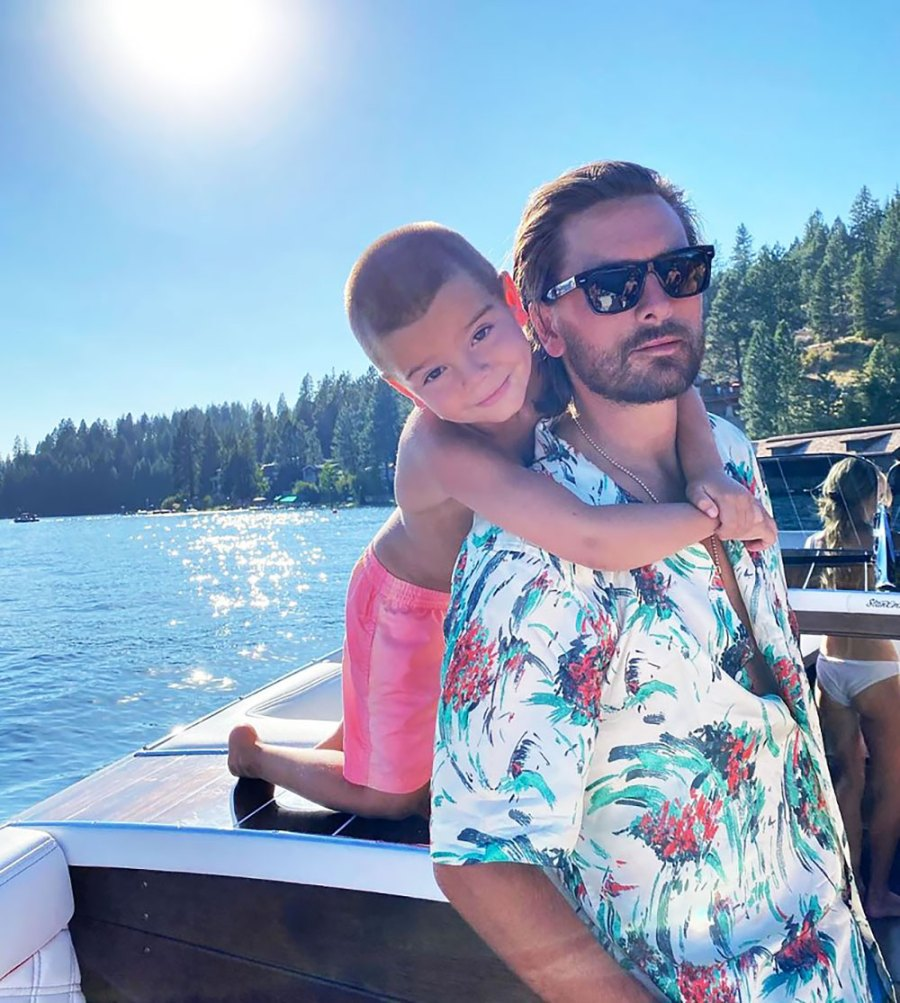 Scott Disick Debuts Son Reign's Mohawk 2 Months After Shaving Head