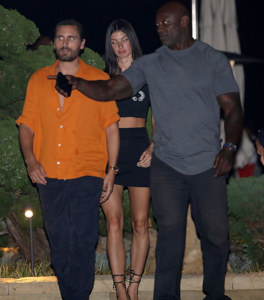 Scott Disick Spotted at Dinner With Model Bella Banos