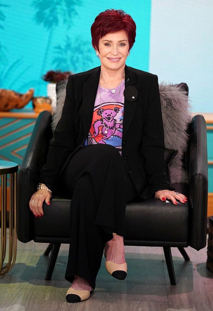 Sharon Osbourne admite haber ganado alrededor de 10 libras.  Durante la cuarentena