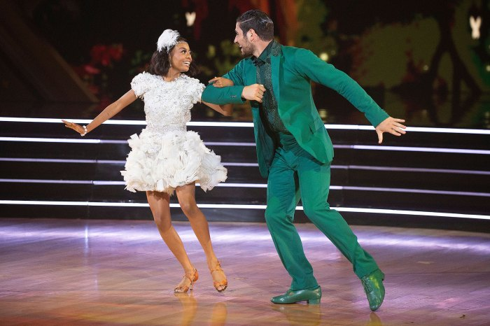 Skai Jackson Dedicates Dancing With The Stars DWTS Performance With Alan Bersten to Late Cameron Boyce