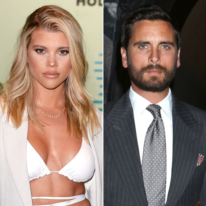 Sofia Richie sets out for a romantic dinner with the Mystery Man after Scott Disick split up