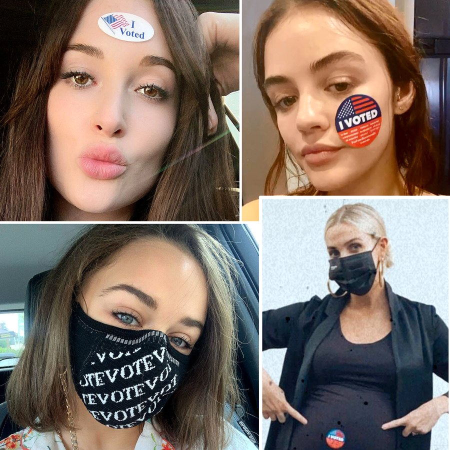 Stars Vote in 2020 Election See the Photos