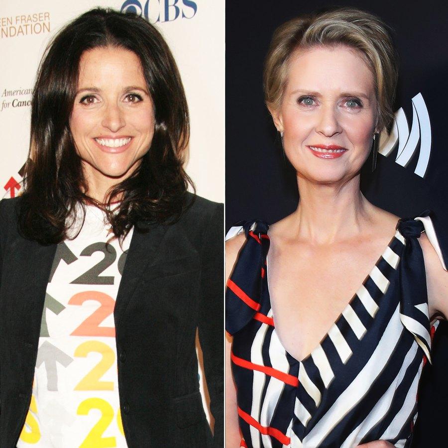 Stars Who Beat Breast Cancer Julia Louis-Dreyfus Cynthia Nixon and More p