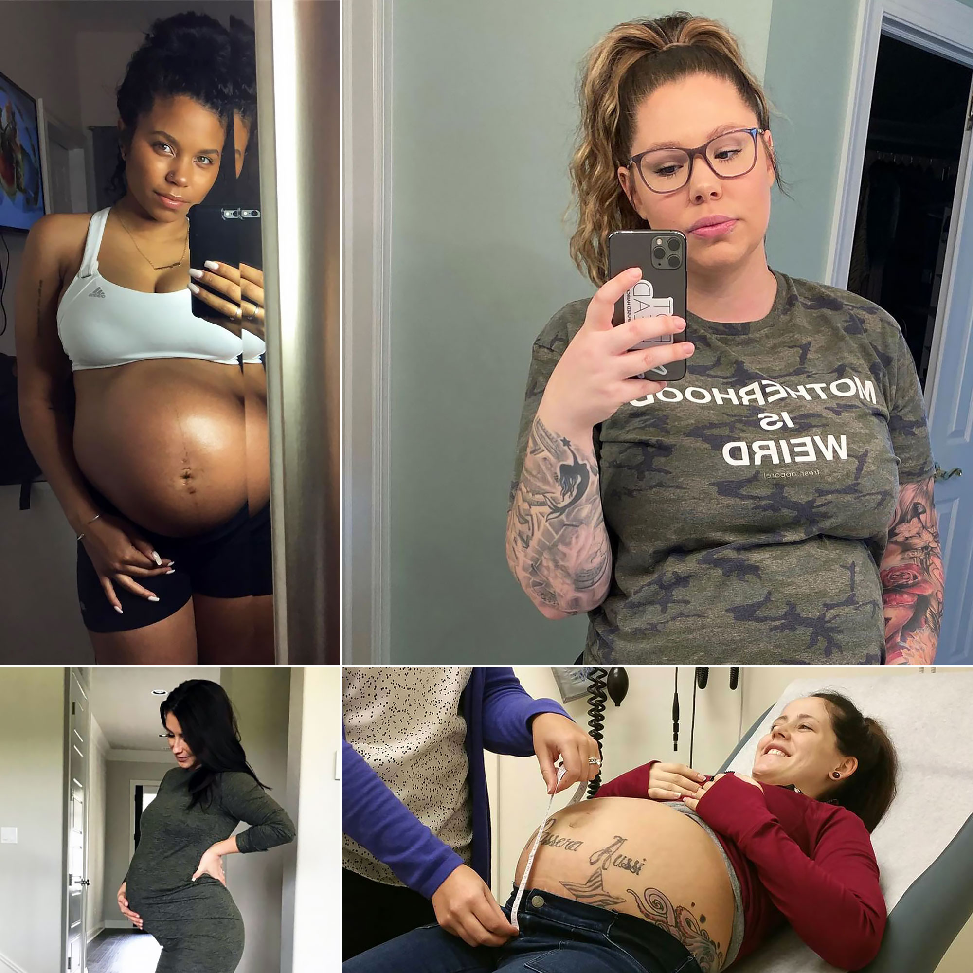 Teen Mom Baby Bumps Reality Stars Pregnancy Pics Over The Years