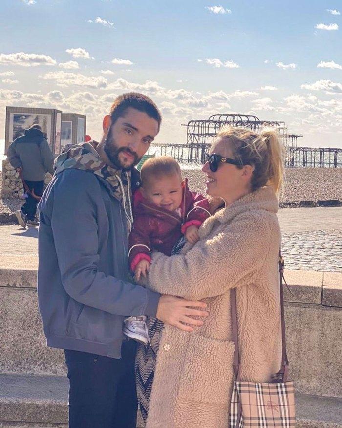 The Wanted Tom Parker da la bienvenida al segundo bebé con su esposa Kelsey