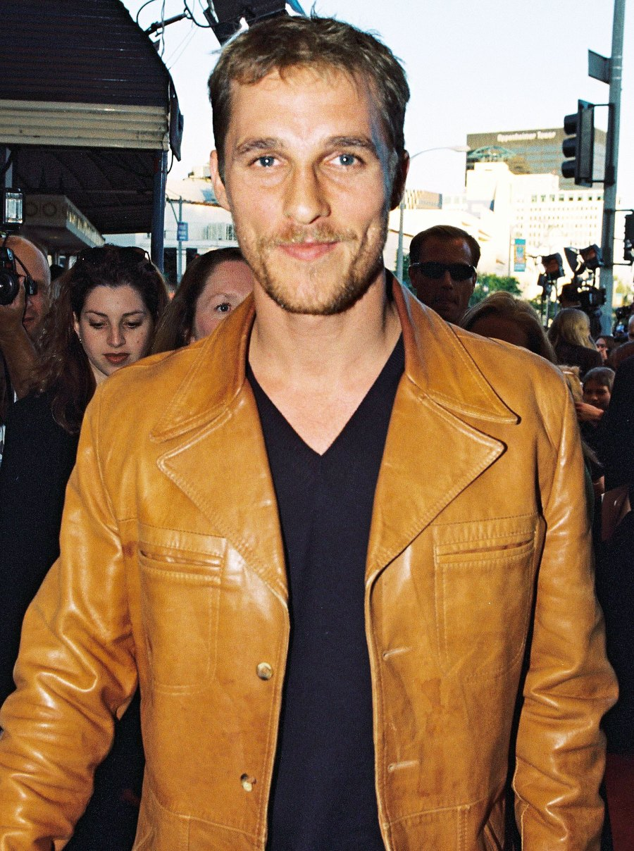 Matthew McConaughey in 1998 Things We Learned About Matthew McConaughey in His New Book Greenlights