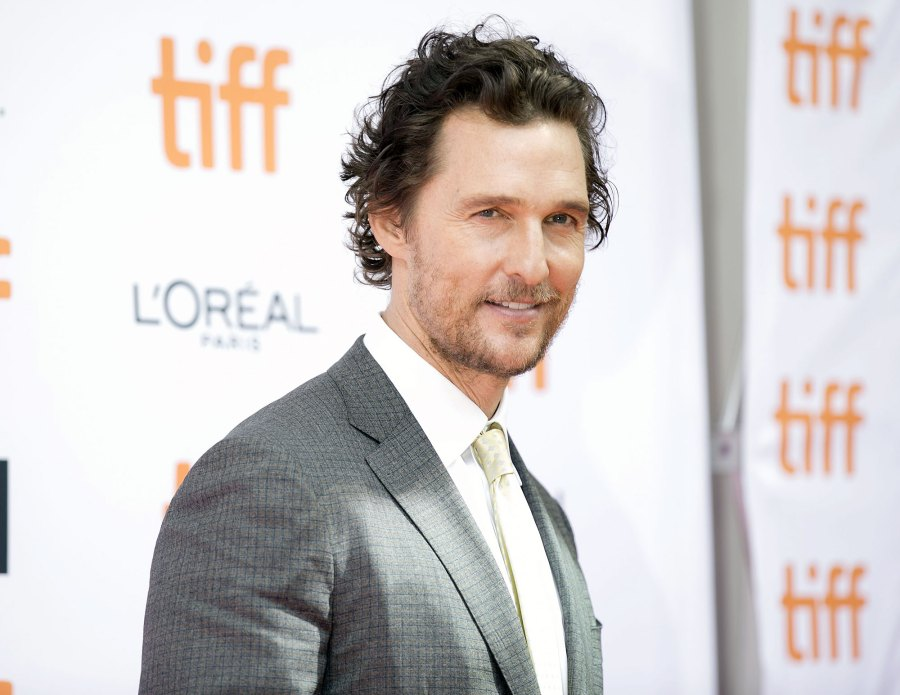 Matthew McConaughey in 2016 Things We Learned About Matthew McConaughey in His New Book Greenlights