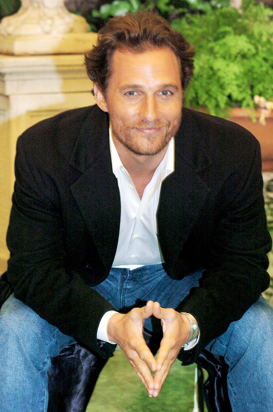Matthew McConaughey in 2005 Things We Learned About Matthew McConaughey in His New Book Greenlights