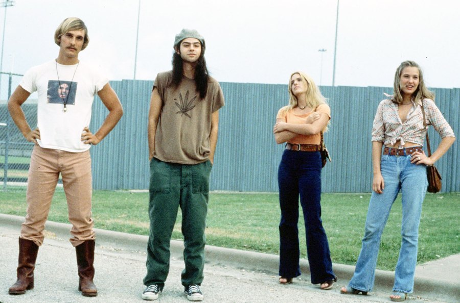 Matthew McConaughey Rory Cochrane and Deena Martin in Dazed and Confused Things We Learned About Matthew McConaughey in His New Book Greenlights