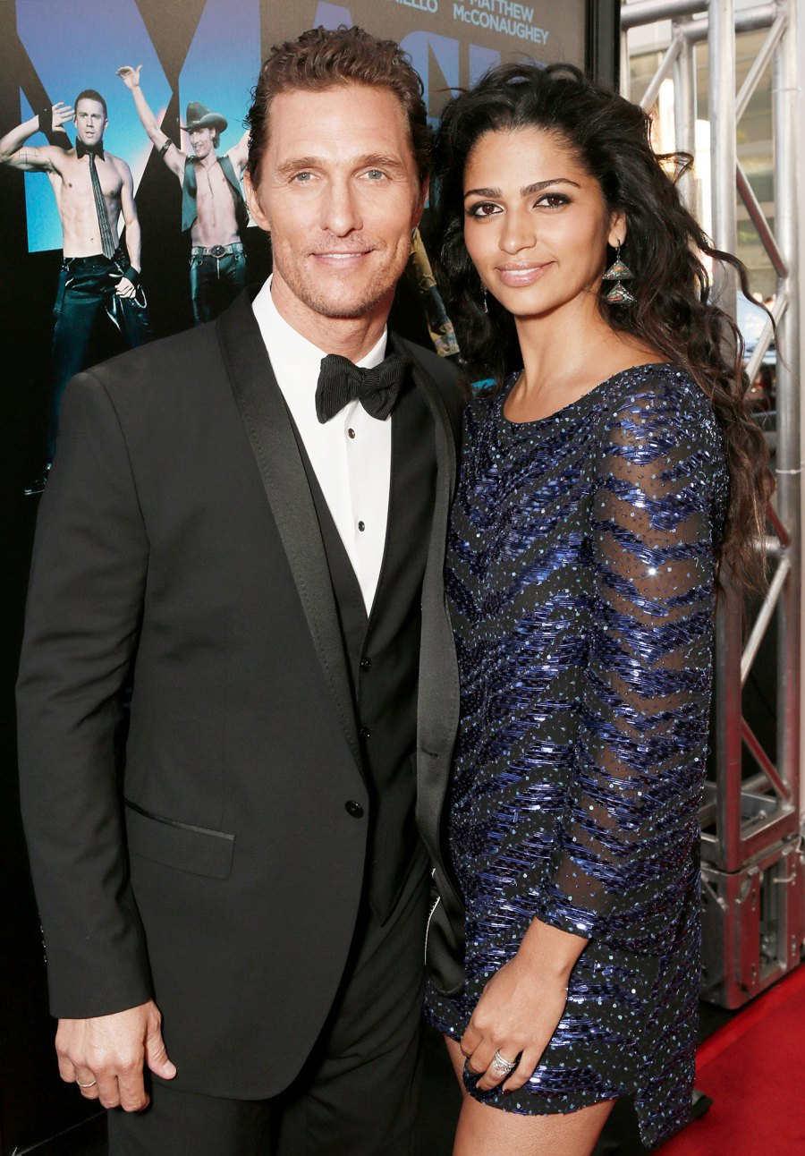 Matthew McConaughey and Camila McConaughey at Magic Mike Premiere Things We Learned About Matthew McConaughey in His New Book Greenlights
