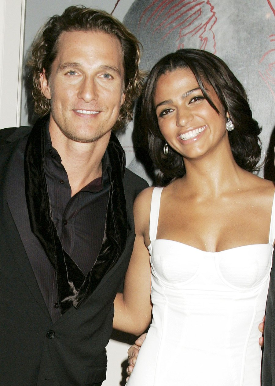 Matthew McConaughey and Camila Alves in 2007 Things We Learned About Matthew McConaughey in His New Book Greenlights