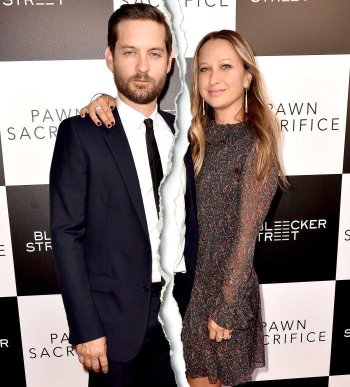 Jennifer Meyer, la esposa separada de Tobey Maguire, solicita el divorcio