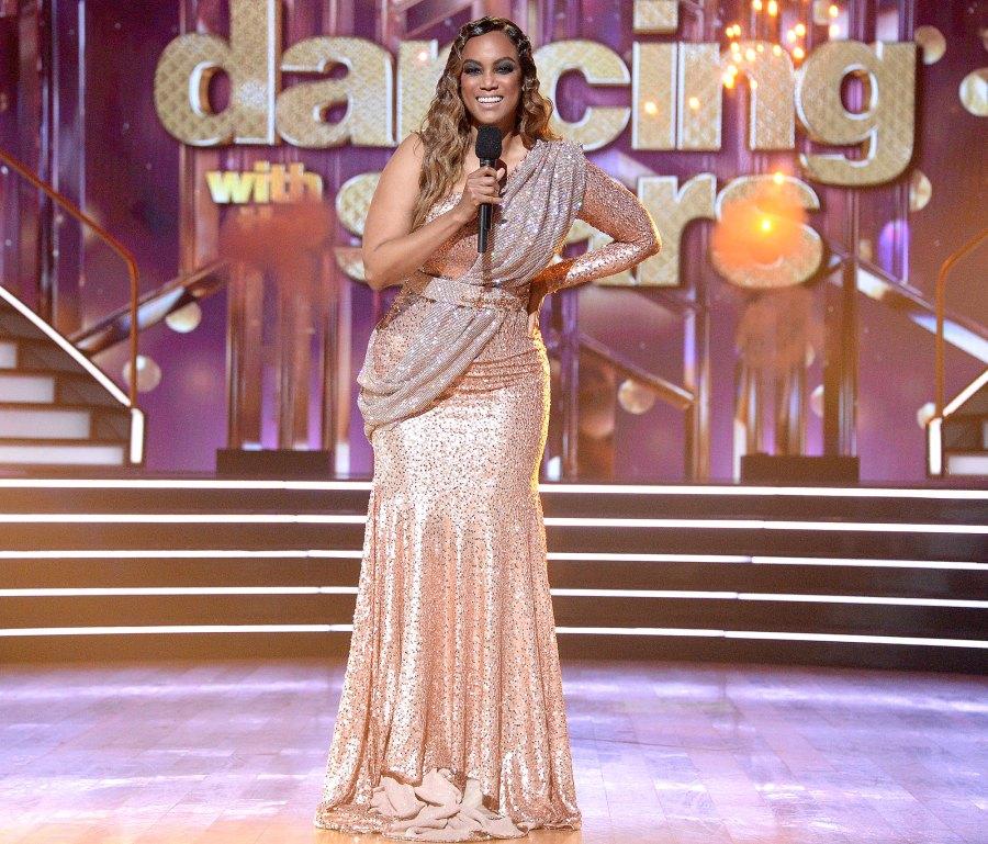 Tyra Banks Dancing With the Stars