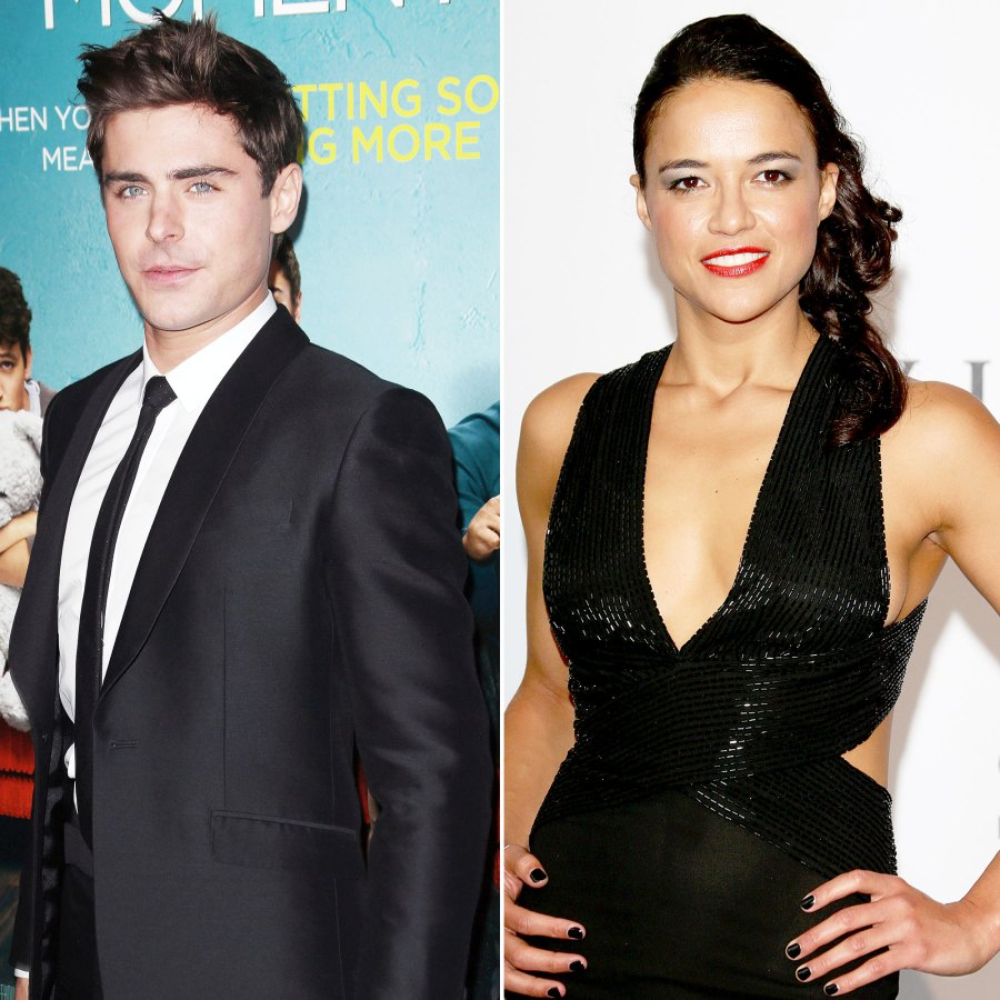 Zac Efron Dating History Michelle Rodriguez