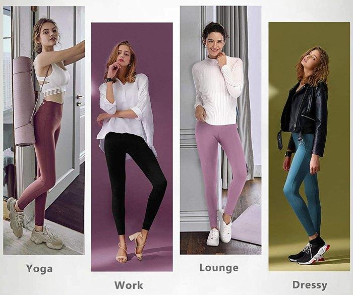 Leggings IUGA de cintura alta con bolsillo interior